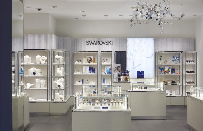 swarovski luxury brand retail boutiques - Swarovski Interior Design